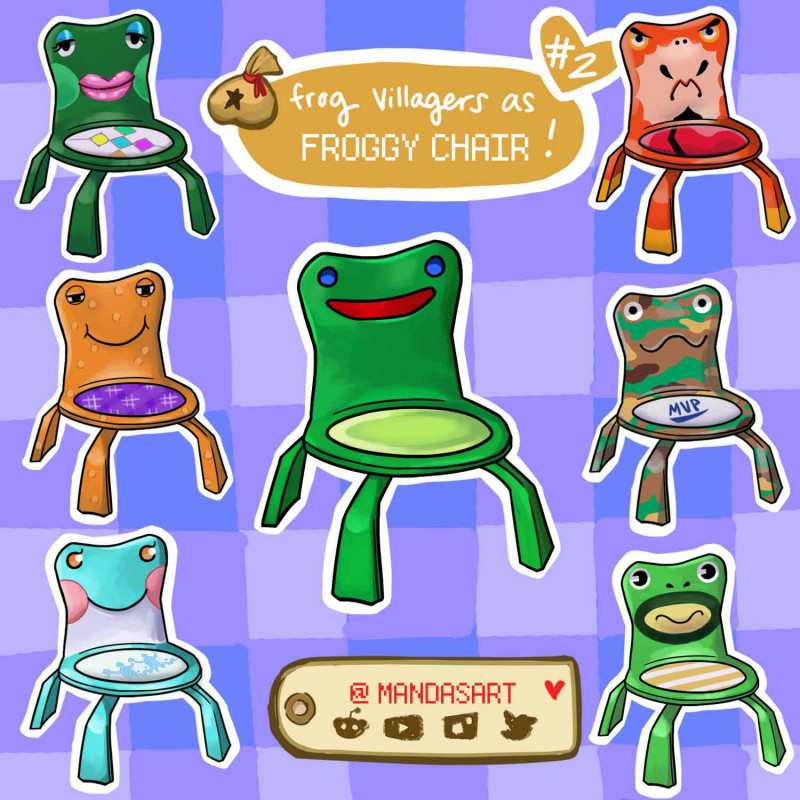 Froschstuhl Animal Crossing Forum