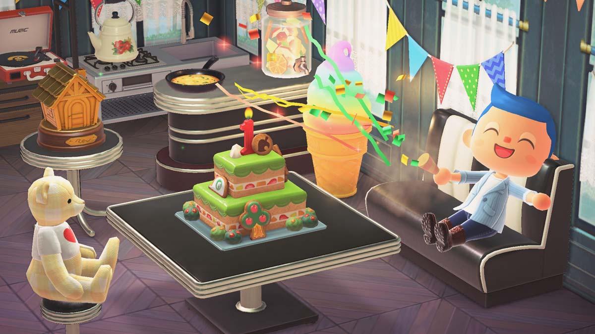 Update-Geschenk: 1.-Jubiläum-Kuchen