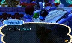 Pizza ist immer gut / Azuria