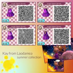 purple Galaxy Dress2
