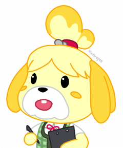 surprised isabelle