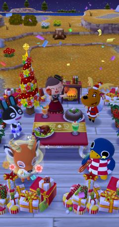 Chris' Weihnachtsfeier