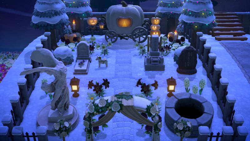 Moonfalls Friedhof