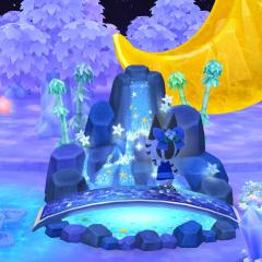 Wasserfall der Sterne