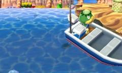Unter dem Boot