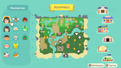 Aktueller Stadtplan von Xochimilco