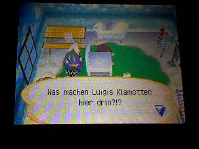 Luigi's Kleidung bei Siggi... WTF?!