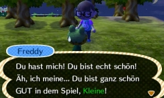 Oha, Danke Süßer. :)