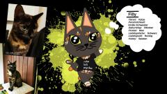 ...meine Katze als Animal Crossing Charakter