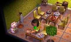 Hauptspeise und Dessert