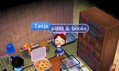 pizza & books / Azuria