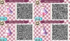 Riko Aquarium Kleid