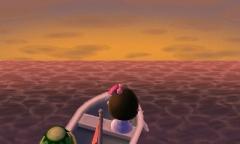 Abendstimmung über dem Meer