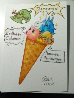 Sommer Spezial Eissorten