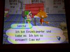 Einsamer Sascha D':