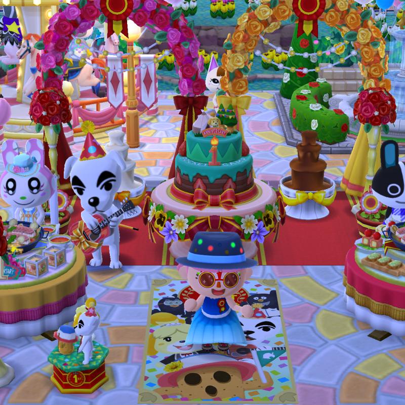 Happy Birthday AC Pocket Camp!