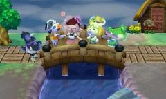 endlich die Holzbrücke <3