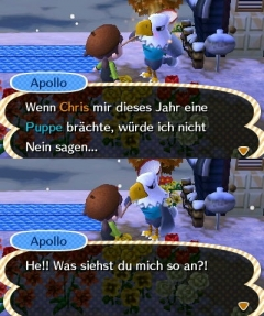 Apollo und Puppe?