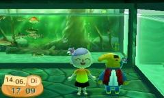 Mit Theo im Aquarium