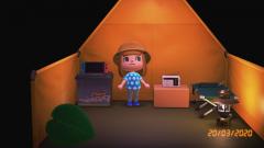 Mein kleines Zelt