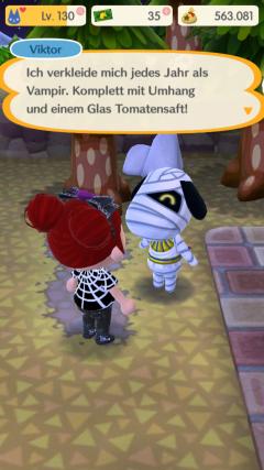 Viktor hat ein Kostüm. Oder zwei?