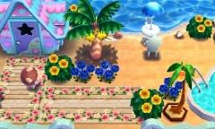 Dehnungsübungen am Strand