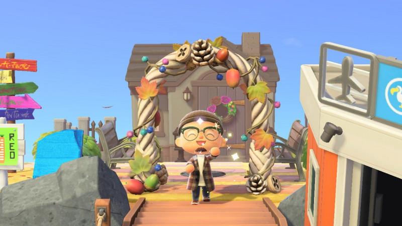 Baumfruchteingang