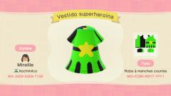 Superheldinnen-Kleid