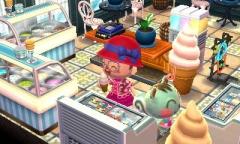 Eis Essen mit Marika