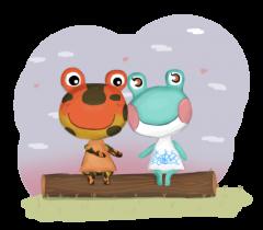 Caspar und Liliane