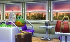 melancholischer Blick aus dem Zugfenster