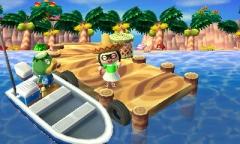 Rückkehr von den olympischen Inselspielen