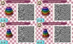 Regenbogen-Kleid