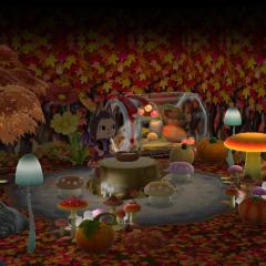 Herbstliches Feenversteck