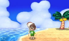 Cumuluswolken / Oktober&Insel