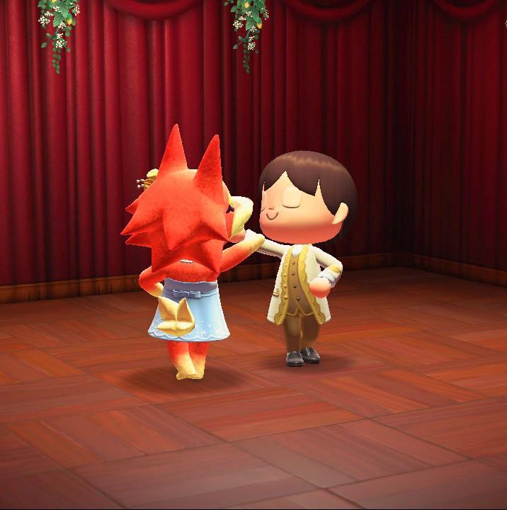 Tanz auf dem königlichen Ball