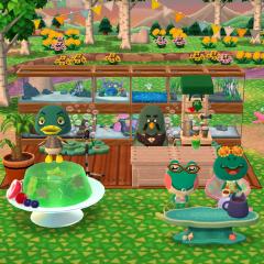 Grüne Versammlung