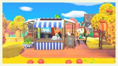 Hilda zu Besuch beim kleinen Café
