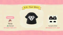 K.K. Slider Tour Shirt
