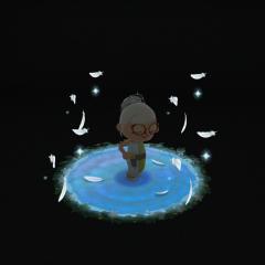 Die Wassernymphe aus der Quelle