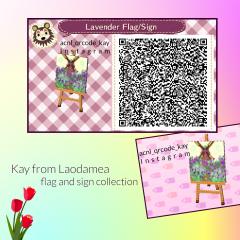 Lavender Flag_Sign