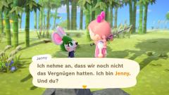 Jenny auf der Insel
