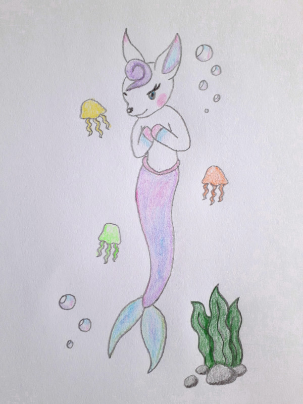 Meerjungfrau Vroni