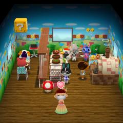 Das süße Spiele-Café  :)