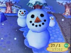 Schneegang