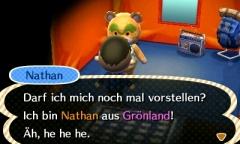 Nathan's Einzug