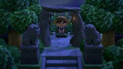 Der Schrein oben auf der alten Tempelanlage