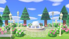 Romantischer Garten auf Fantasia