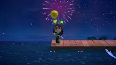 Feuerwerk genießen