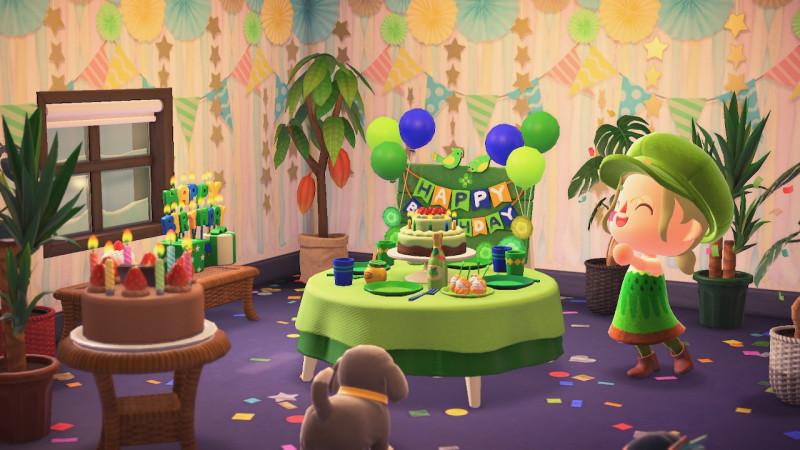 Geburtstagsvorbereitungen